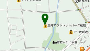 TaylorMade - adidas Golf 三井アウトレットパーク 倉敷店の地図画像