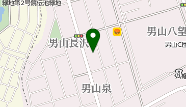 公文式男山泉教室の地図画像