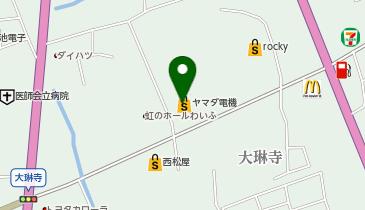ヤマダ電機 テックランド菊池店の地図画像