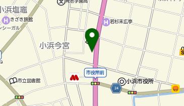 本家かまどや 小浜市役所前店の地図画像