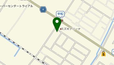 本家かまどや 甲西平松店の地図画像