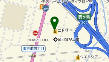 ニトリ 鶴ヶ島店の地図画像
