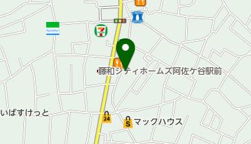 上島珈琲店 阿佐ヶ谷店の地図画像