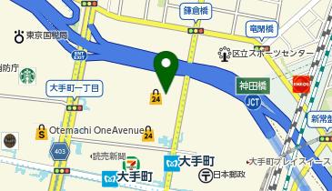 上島珈琲店 大手町フィナンシャルシティ店の地図画像