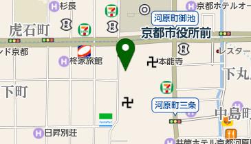 上島珈琲店 京都寺町店の地図画像