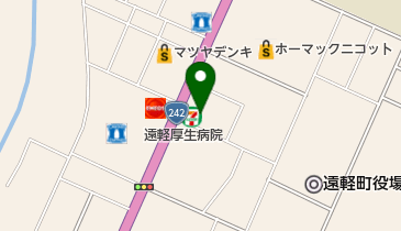 セブンイレブン 遠軽大通北店の地図画像