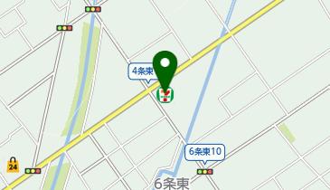 セブンイレブン 岩見沢5条店の地図画像