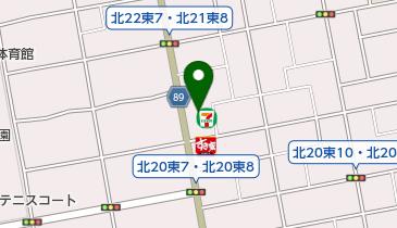 セブンイレブン 札幌北21条東8丁目店の地図画像