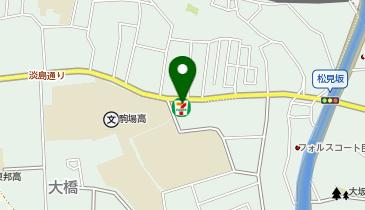 セブンイレブン 駒場大橋店の地図画像