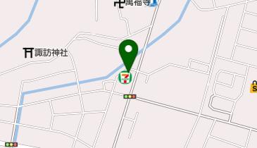 セブンイレブン 坂戸伊豆の山店の地図画像