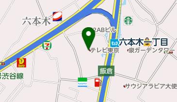 セブンイレブン テレビ東京本社店の地図画像