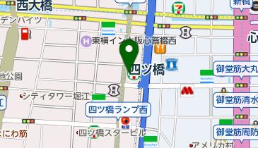 セブンイレブン 四ツ橋北堀江店の地図画像