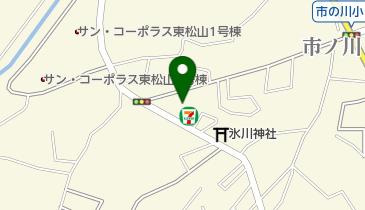 セブンイレブン 東松山市ノ川店の地図画像