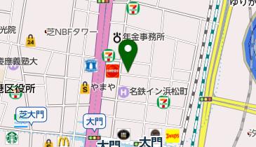 タイムズ浜松町第2の地図画像