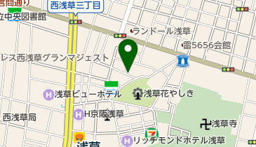 タイムズ浅草第11の地図画像