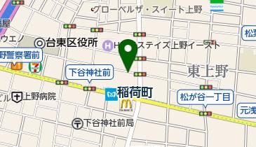 タイムズ東上野第6の地図画像