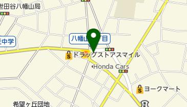 タイムズ世田谷船橋第2の地図画像