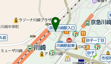 タイムズステーション川崎の地図画像