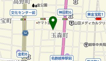 タイムズ新岐阜の地図画像