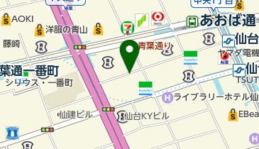 タイムズ仙台中央第2の地図画像