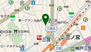 タイムズ三宮駅前第2の地図画像