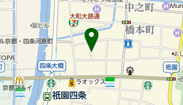 タイムズ祇園の地図画像