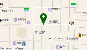 タイムズ六角柳馬場の地図画像
