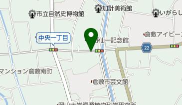 タイムズ倉敷中央の地図画像