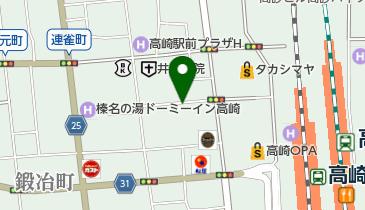 日新パーク高崎八島町の地図画像