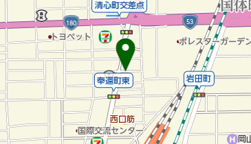 タイムズ奉還町の地図画像