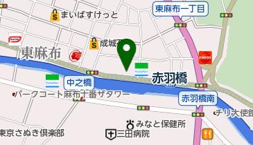 タイムズ東京建物アメニティサポート赤羽橋駐車場の地図画像