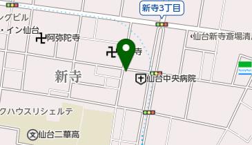 タイムズ仙台新寺の地図画像