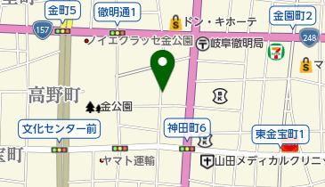 タイムズ岐阜神田町の地図画像