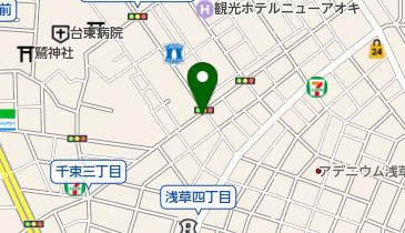 タイムズ浅草第29の地図画像