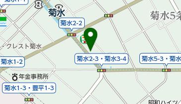 タイムズ菊水第2の地図画像