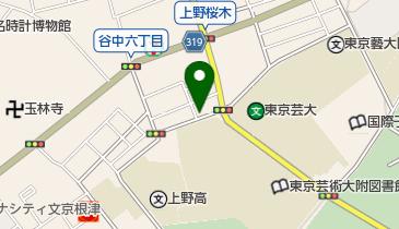 キプト上野桜木の地図画像