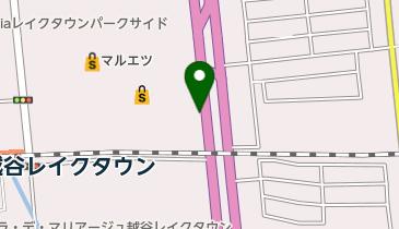 イオンレイクタウンKAZEゲート1の地図画像