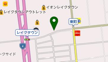 イオンレイクタウンMORIゲート12の地図画像
