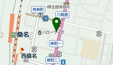 タイムズ桑名駅前第3の地図画像