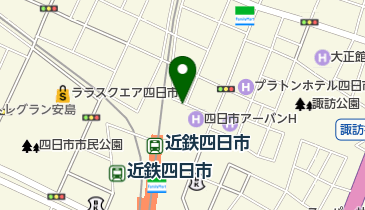 キング観光サウザンド近鉄四日市店の地図画像