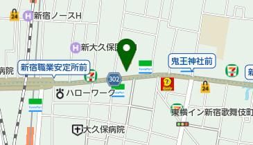ドン・キホーテ新宿店の地図画像