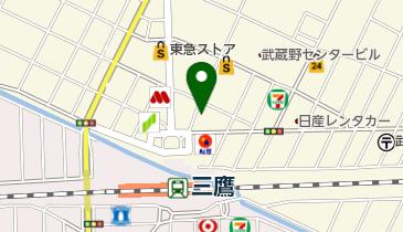 タイムズ三鷹駅前第11の地図画像