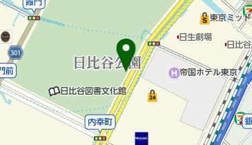 日比谷駐車場の地図画像