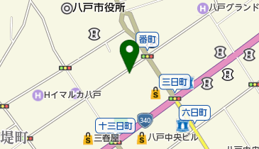 タイムズさくら野百貨店八戸店の地図画像