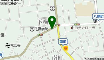 タイムズ高崎新田町の地図画像