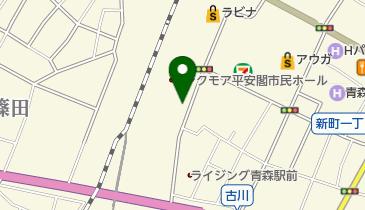 タイムズ青森駅前の地図画像