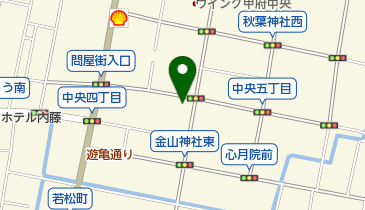 タイムズ甲府中央4丁目の地図画像