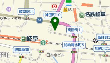 タイムズ岐阜駅北の地図画像