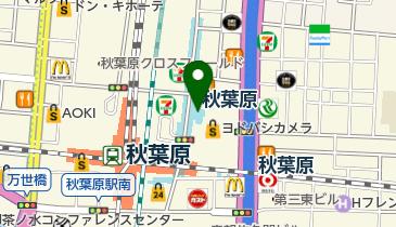 タイムズヨドバシAkibaの地図画像