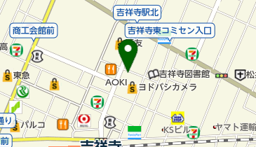 タイムズヨドバシ吉祥寺の地図画像